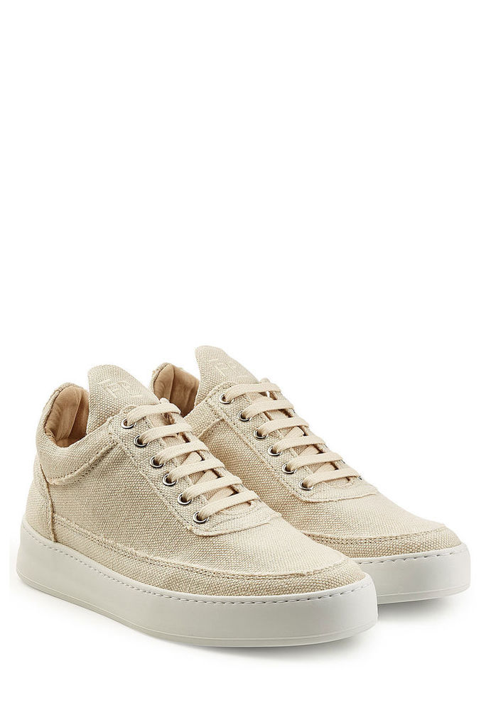 Filling Pieces Jenna Low Top Fabric Sneakers