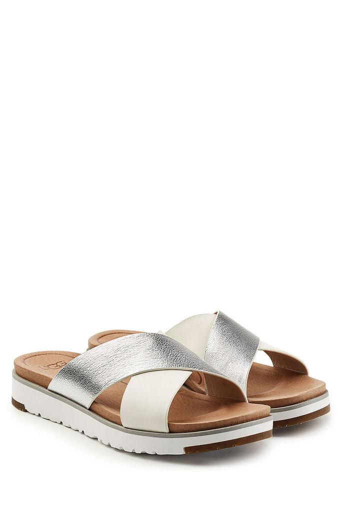 UGG Australia Kari Sandals with Leather