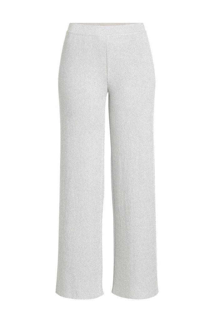 Missoni Metallic Thread Knit Pants