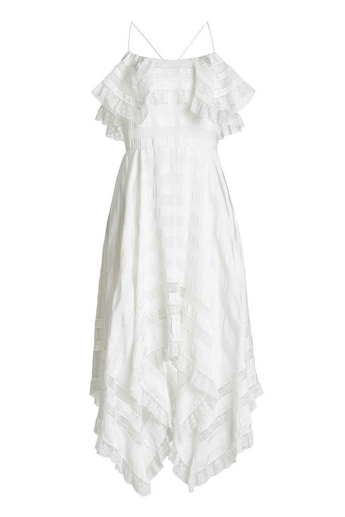 Philosophy di Lorenzo Serafini Maxi Dress with Lace