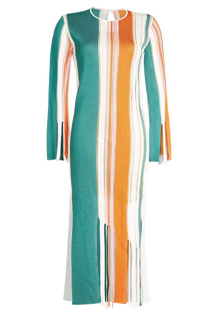 Marco de Vincenzo Fringed Dress