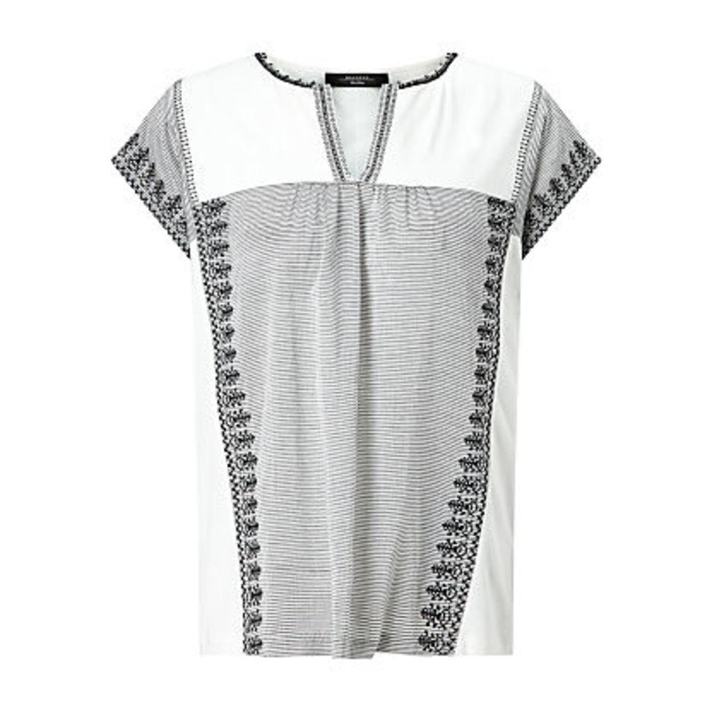 Weekend MaxMara Pandoro Jersey T-Shirt, Black