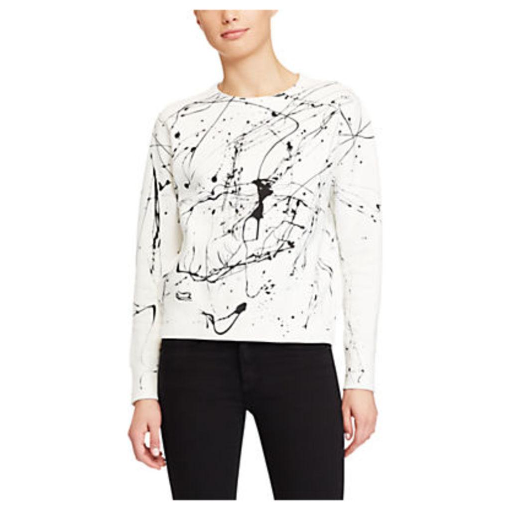 Polo Ralph Lauren Paint Splatter Sweatshirt, Nevis