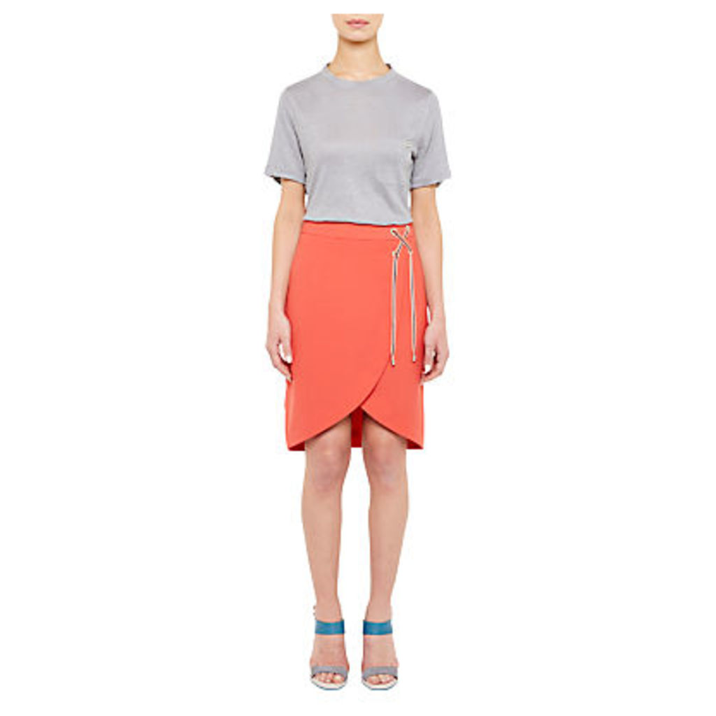 Ted Baker Colour By Numbers Harlaa Square Cut Linen T-Shirt
