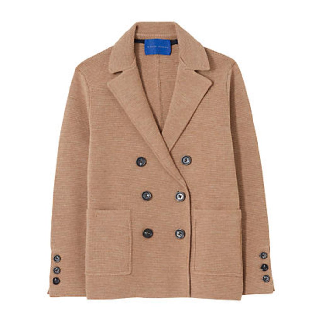 Winser London Milano Wool Double Breasted Blazer