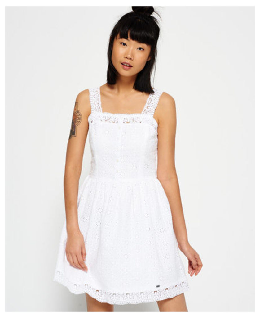 Superdry Lacy Mix Skater Dress