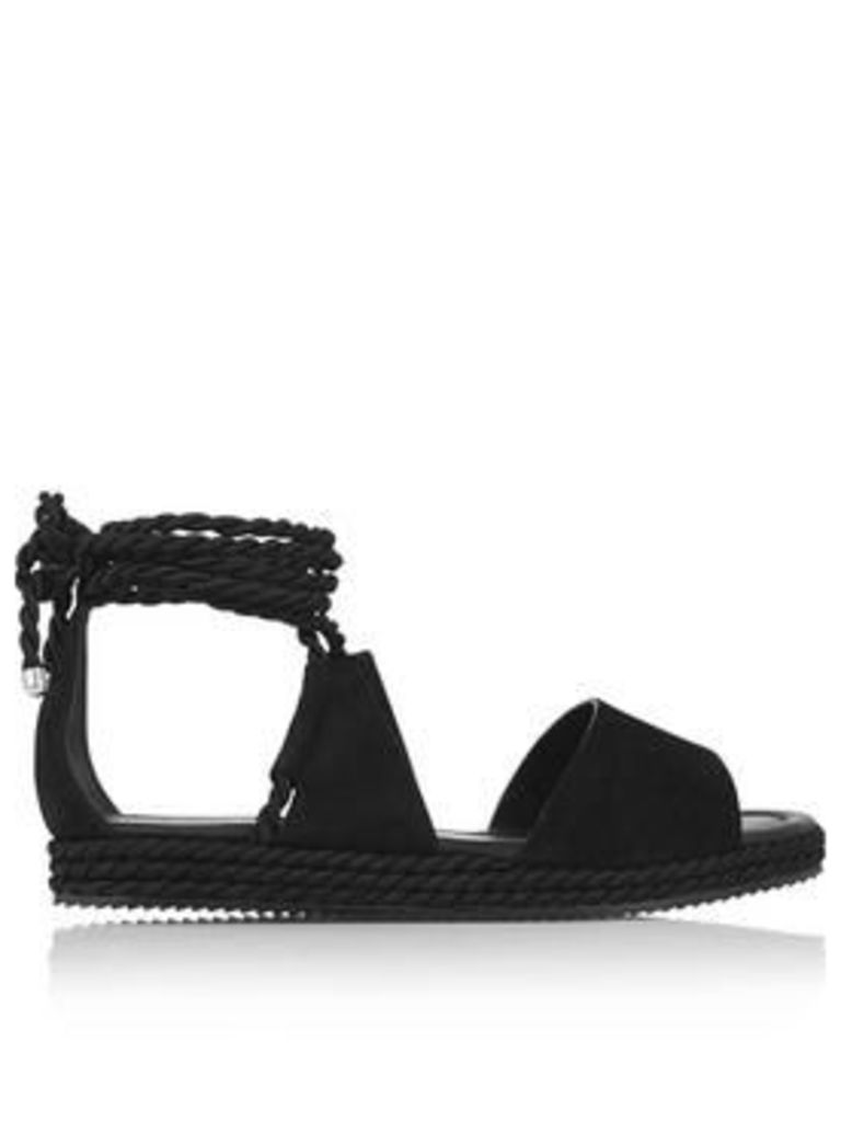 Whistles Rope Wrapped Platform Sandals - Black