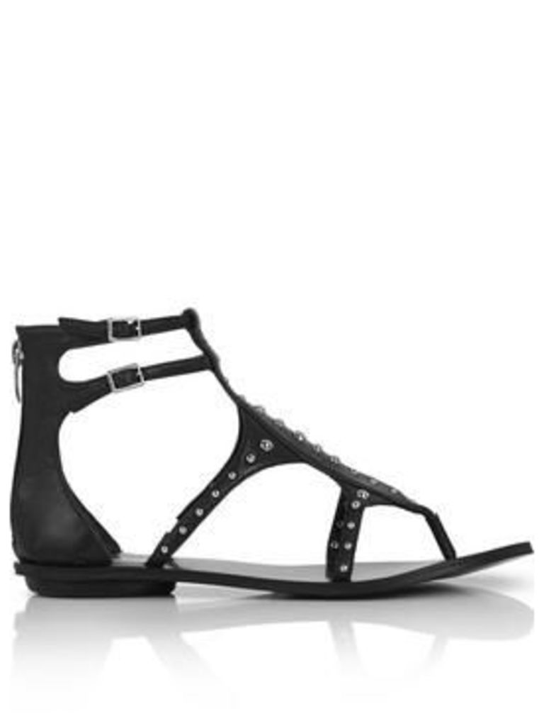 Kendall + Kylie Fayth Studded Sandals - Black