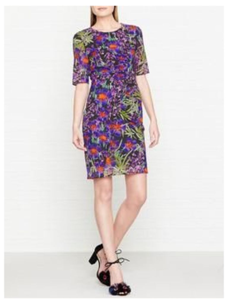Whistles Maria Floris Print Bodycon Dress - Multicolour
