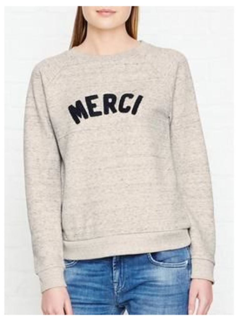Whistles Merci Sweatshirt - Grey
