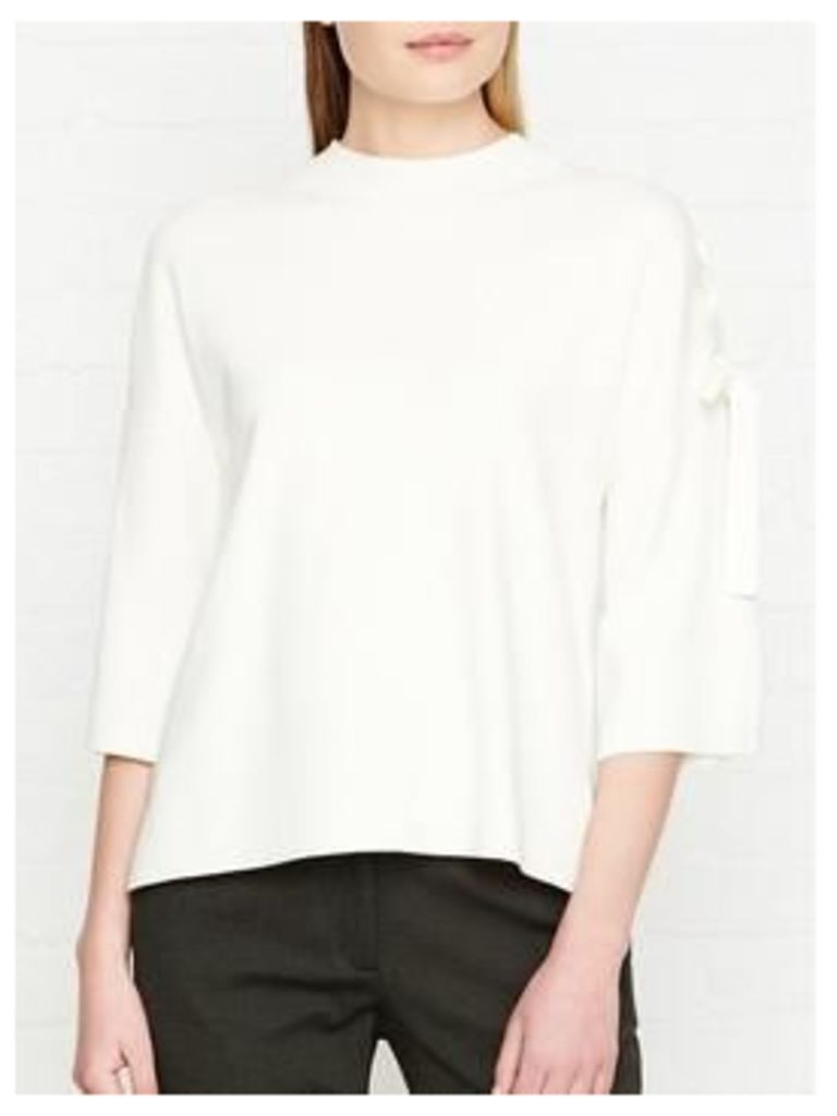 Karen Millen Lacing Detail Jumper - Ivory