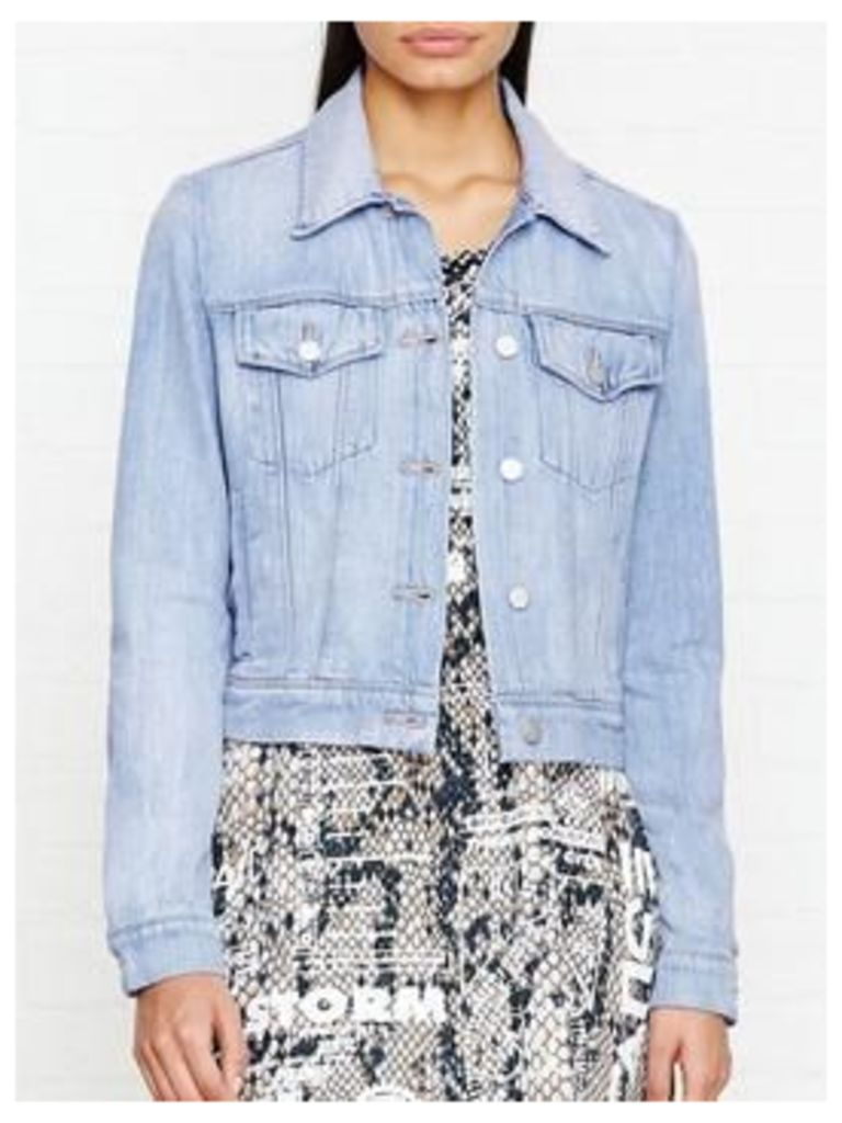 J Brand Harlow Denim Jacket - Distance