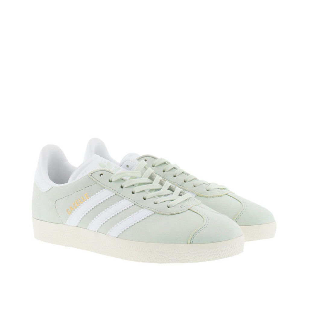 adidas Originals Sneakers - Gazelle W Sneaker Linen Green/ White/ Cream - in green - Sneakers for ladies