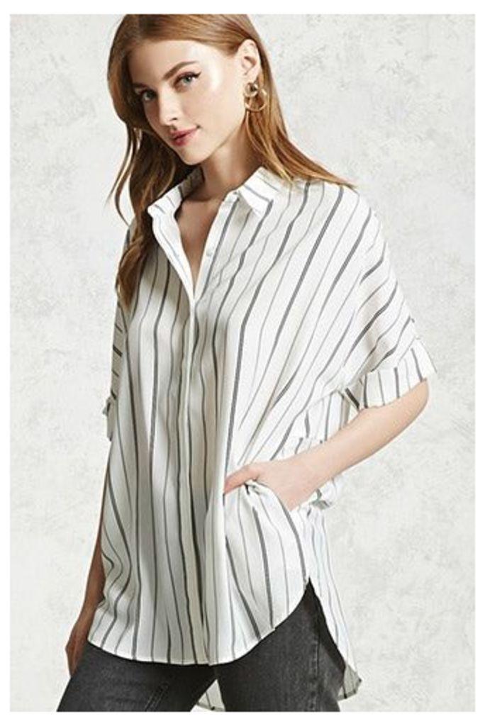 Striped Dolman Shirt