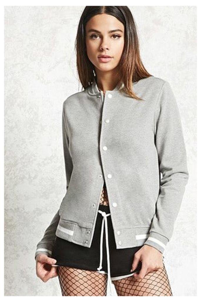 French Terry Varsity Jacket
