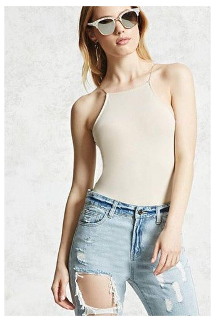 Square-Neck Cami Bodysuit