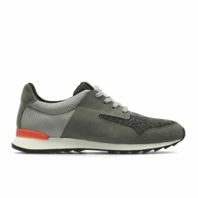Floura Mix Leather Trainers