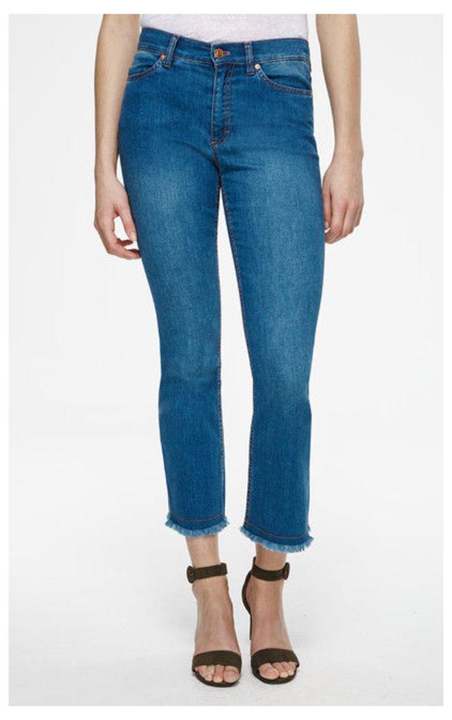 ESCADA SPORT 5-pocket pants J816 Blue