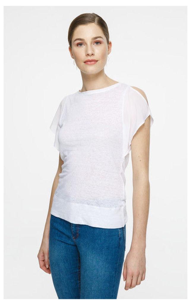 ESCADA SPORT T-Shirt Enyari White