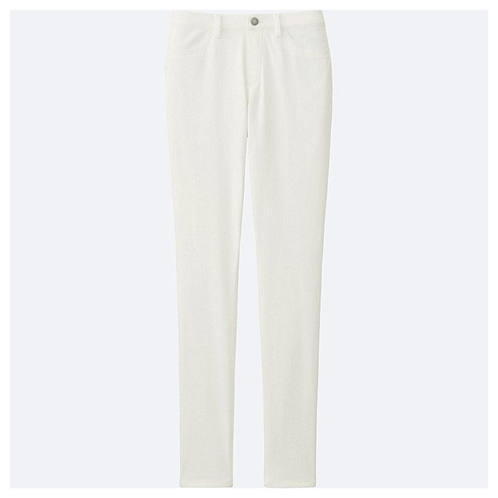 Uniqlo  Women Leggings Trousers - White - S