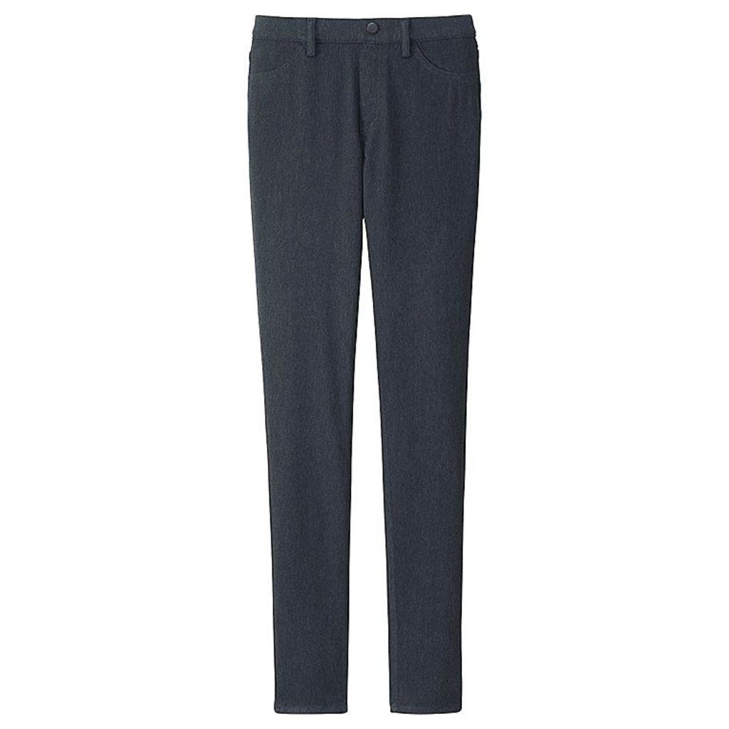 Uniqlo  Women Leggings Trousers - Dark Gray - Xl