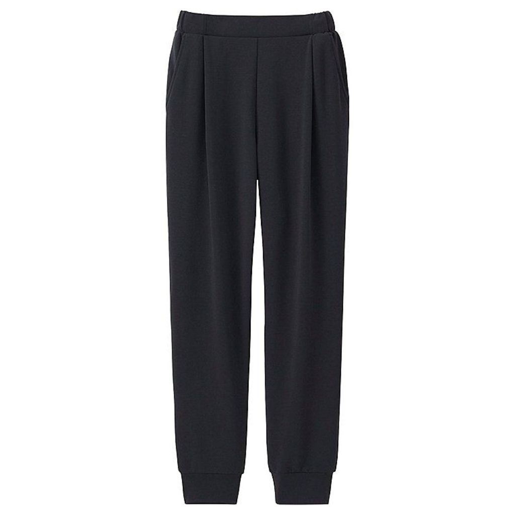 Uniqlo  Women Airism Ankle Pants - Black - Xl