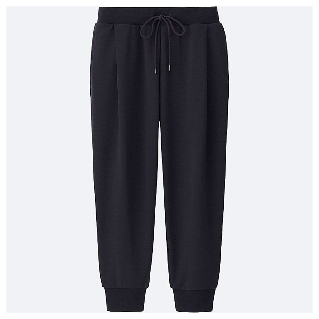 Uniqlo  Women Airism Stretch Cropped Trousers - Navy - Xl