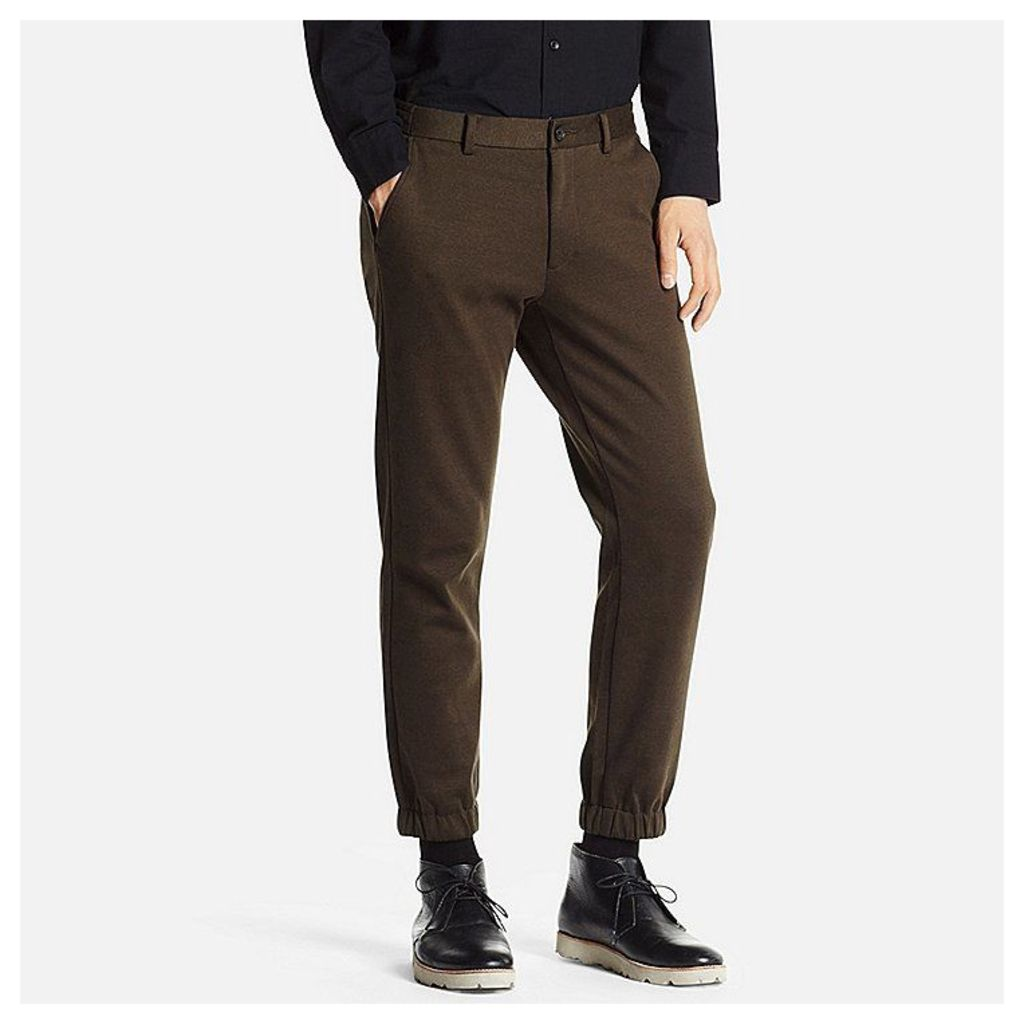 Uniqlo  Men Jogger Trousers - Dark Green - M