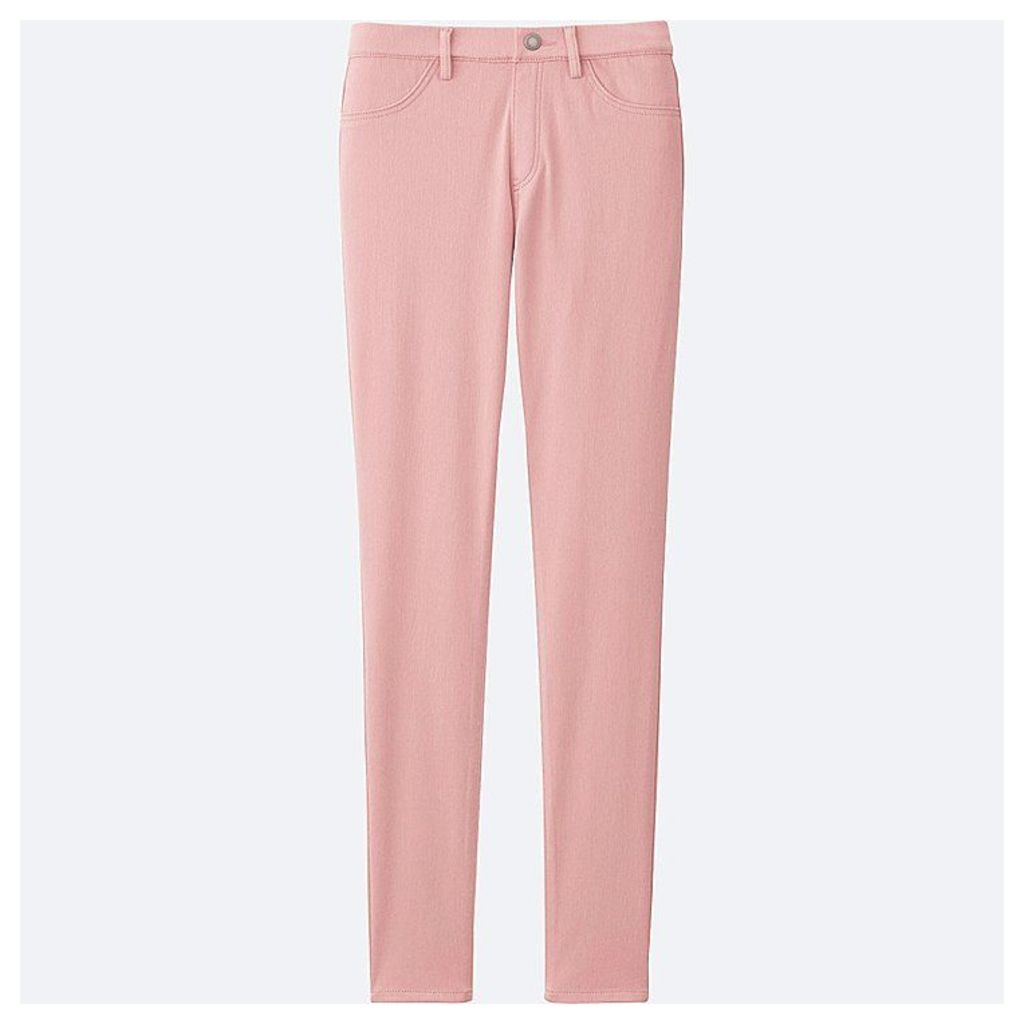 Uniqlo  Women Leggings Trousers - Pink - Xl
