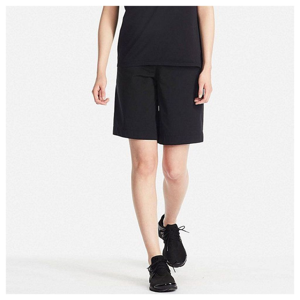 Uniqlo  Women Dry-ex Ultra Stretch Knee Length Trouser - Black - Xs