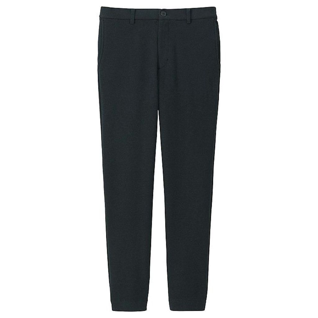 Uniqlo  Men Milano Jogger Pants - Black - S