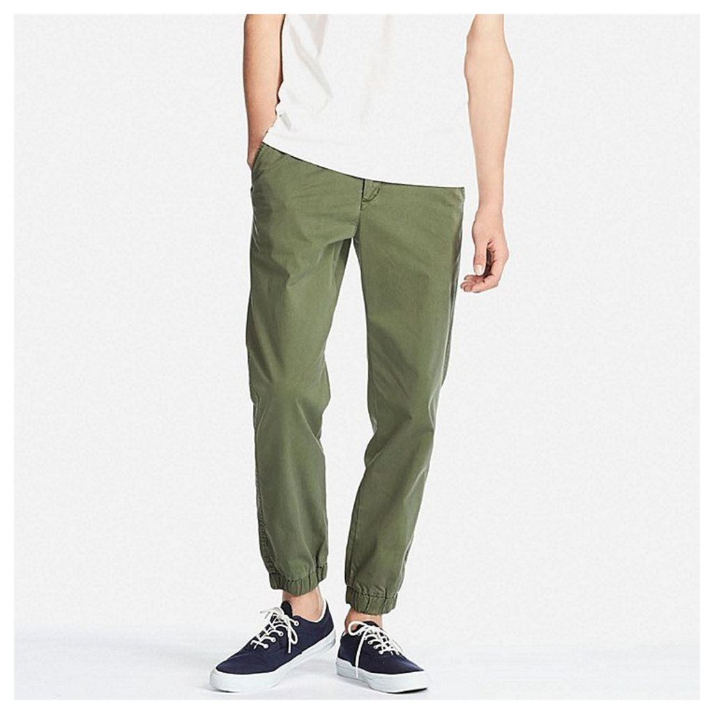 Uniqlo  Men Jogger Pants - Olive - M