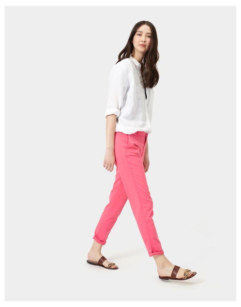Rosehip Hepburn Chino Trousers  Size 8 | Joules UK