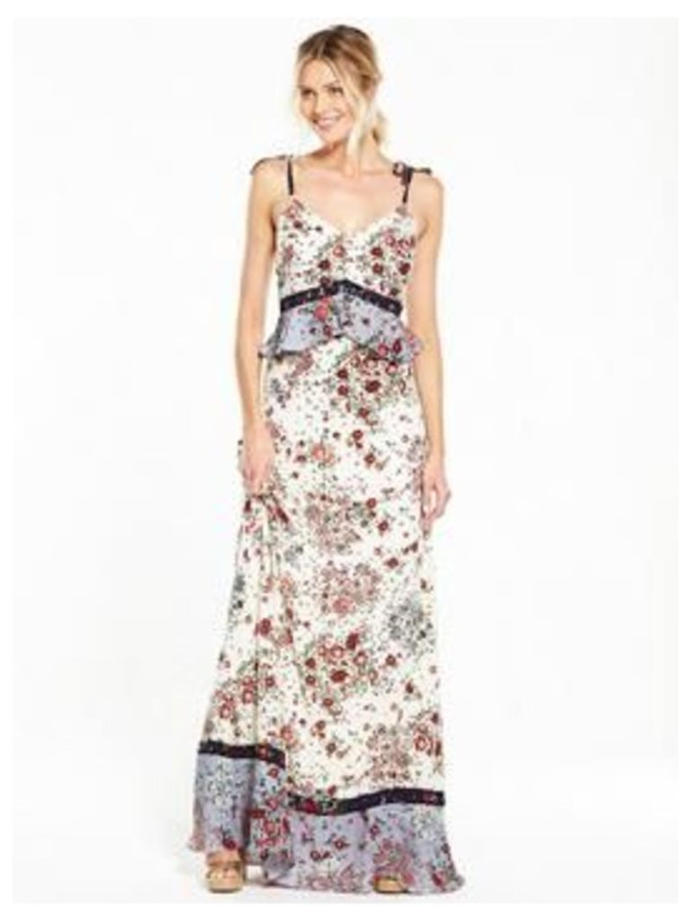 V By Very Strappy Mixed Print Maxi Dress