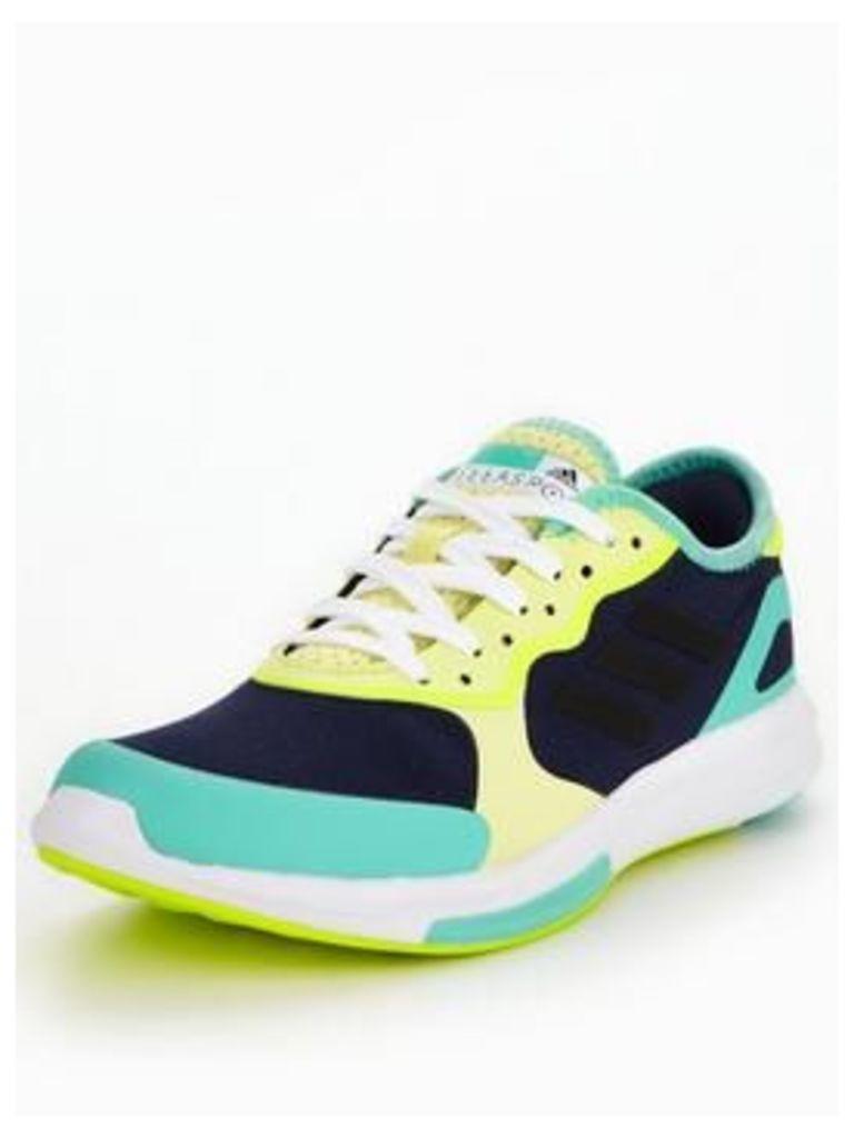 adidas StellaSport Yvori, Navy/Yellow, Size 8, Women