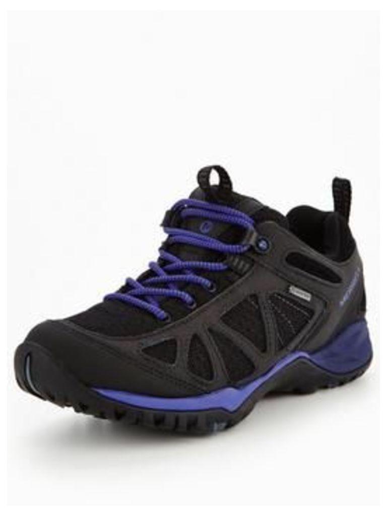 Merrell SIREN SPORT Q2 GTX, Black/Purple, Size 8, Women