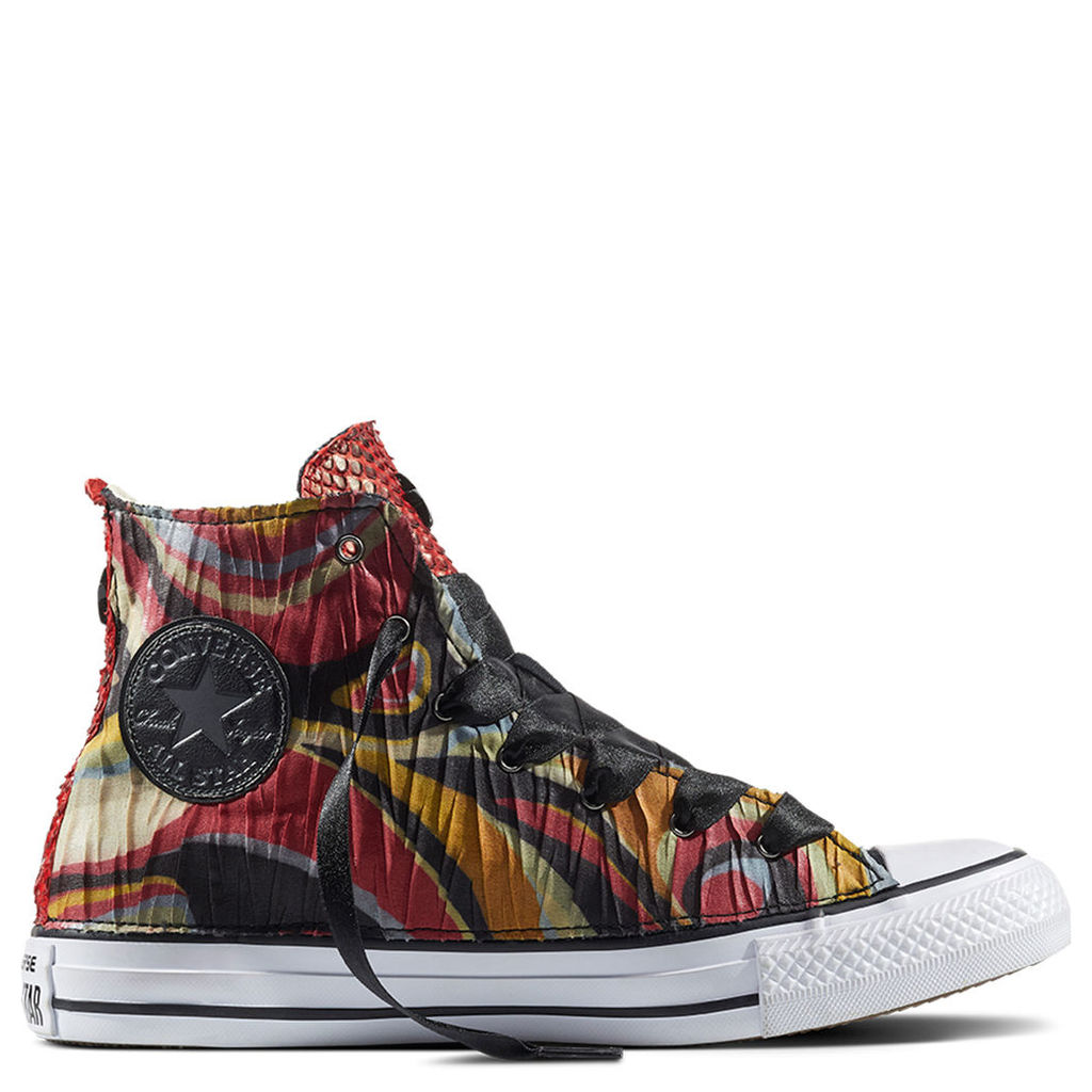 Chuck Taylor All Star Satin Snake Embossed