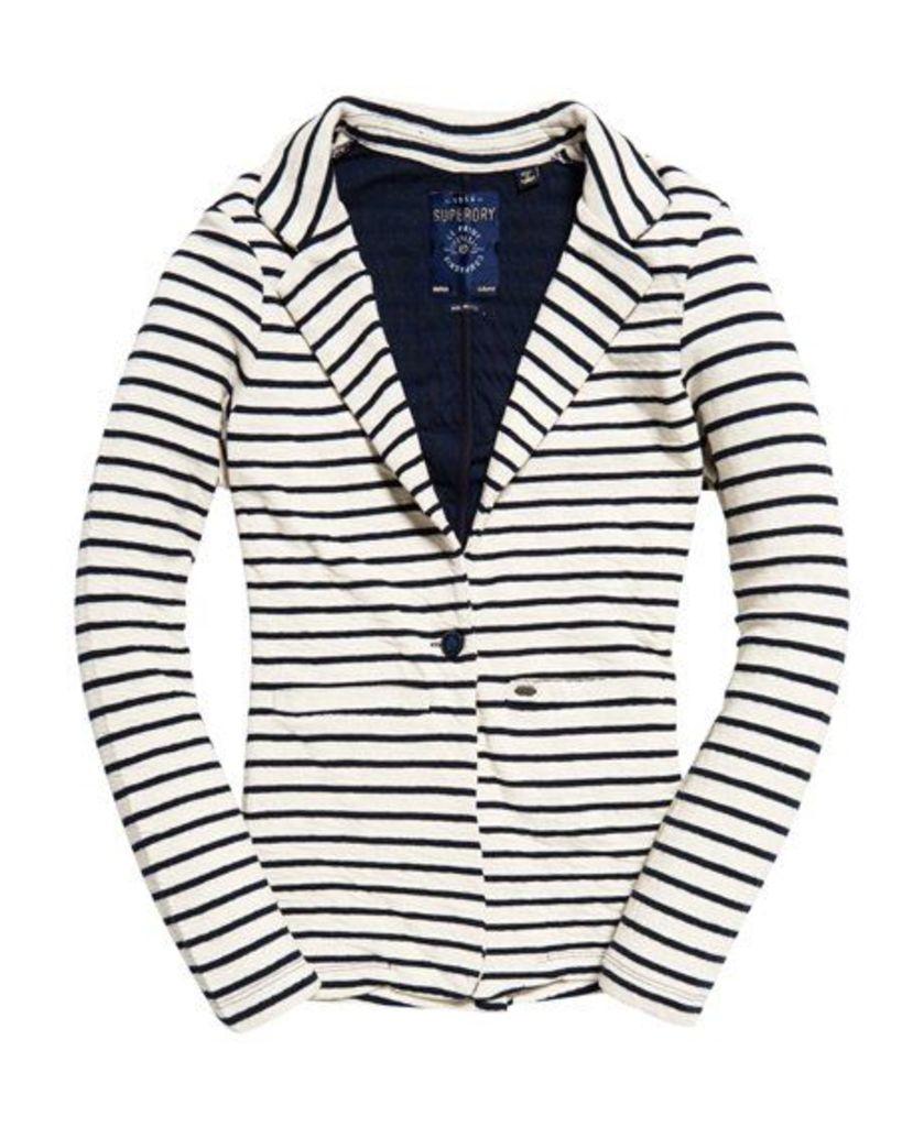 Superdry Nautical Jersey Blazer Jacket