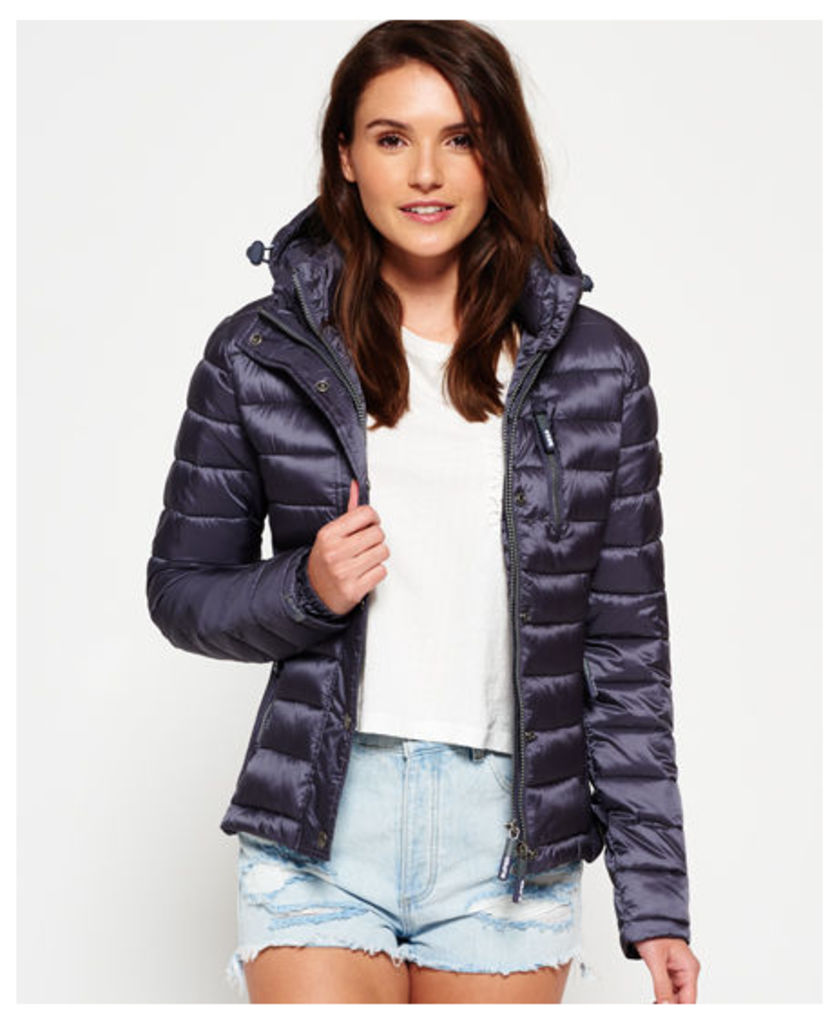 Superdry Luxe Fuji Zip Hooded Jacket