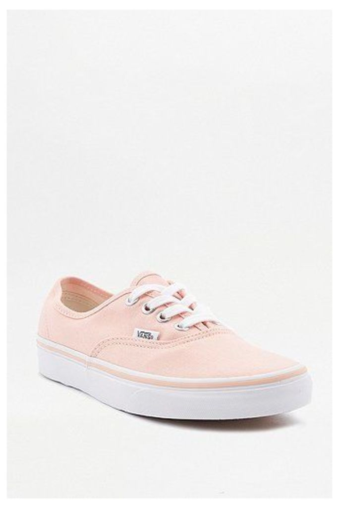Vans Authentic Peach Trainers, Peach