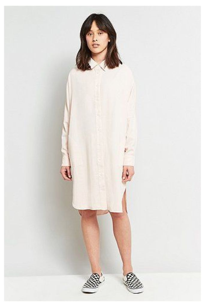 Kings Of Indigo Juliana Shirt Dress, Pink