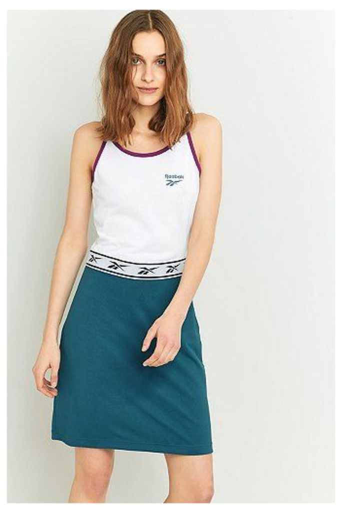 Reebok Two-Tone Blue Slip Dress, Blue