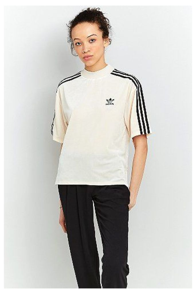 adidas Originals Velvet T-Shirt, Tan