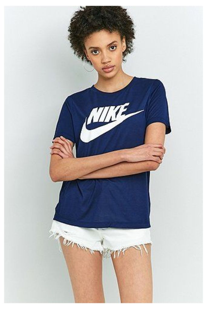 Nike Essential Navy T-Shirt, Navy