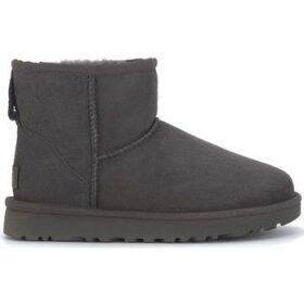 UGG  UGG Classic II Mini ankle boots in grey suede  women's Mid Boots in Black