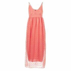 Molly Bracken  CORALI  women's Long Dress in Pink