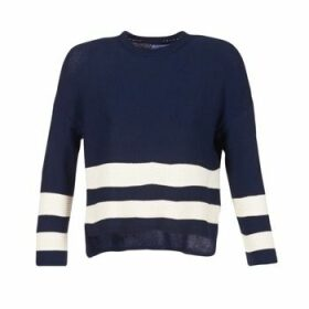 Loreak Mendian  MARINA  women's Sweater in Blue