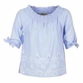 Betty London  GARZ  women's Blouse in Blue