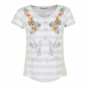 Desigual  TEDIREA  women's T shirt in White
