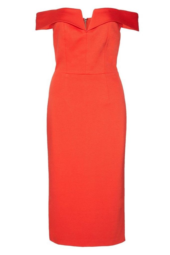 Sienna Off Shoulder Fitted Dress